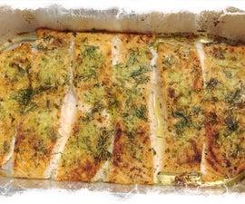 Pesto Garlic Salmon