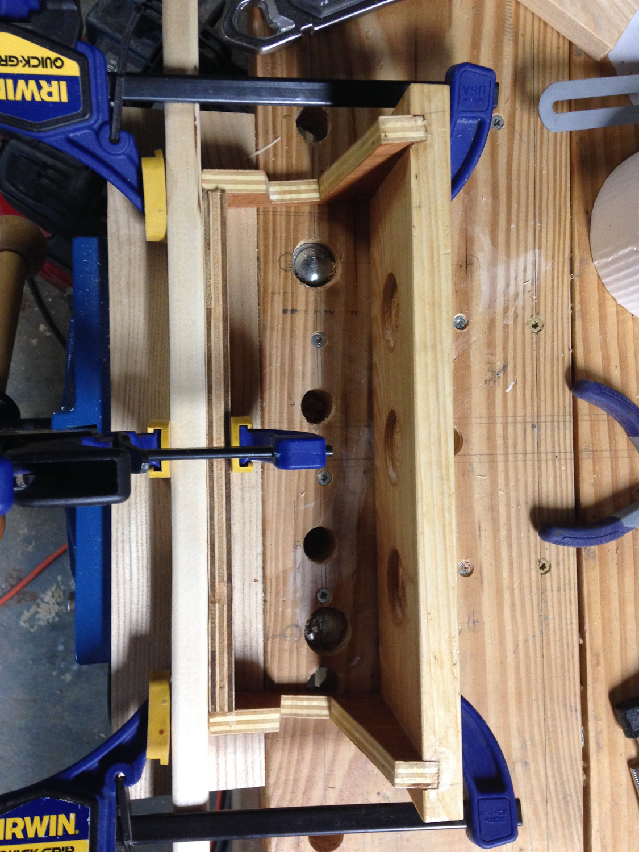 Picture of Glue Up: Clamps, Clamps, Clamps, Clamps and Finish.