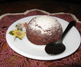 Molten Chocolate Baby cakes