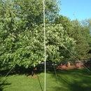 Portable PVC Conduit Antenna Mast