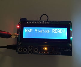 Arduino GSM LCD Stacked