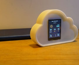 Desktop Weather Station With WIFI