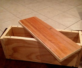 Handcrafted Magnetic-Top Storage Box