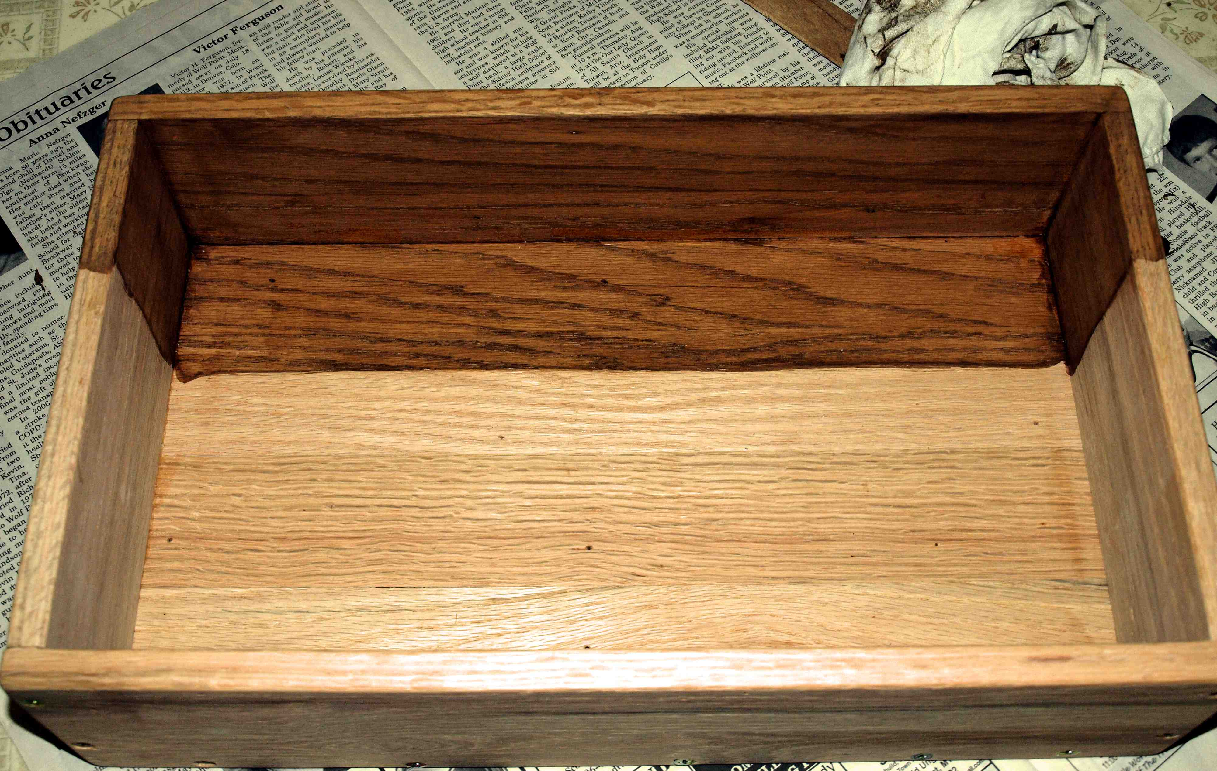 Picture of Stain and Finish