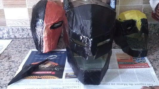#7 Batman Armored Helmet Cardboard  DIY Abdellah  - How to - HD