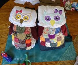 Novelty Owl Backpack