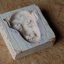 Making a one piece plaster mold