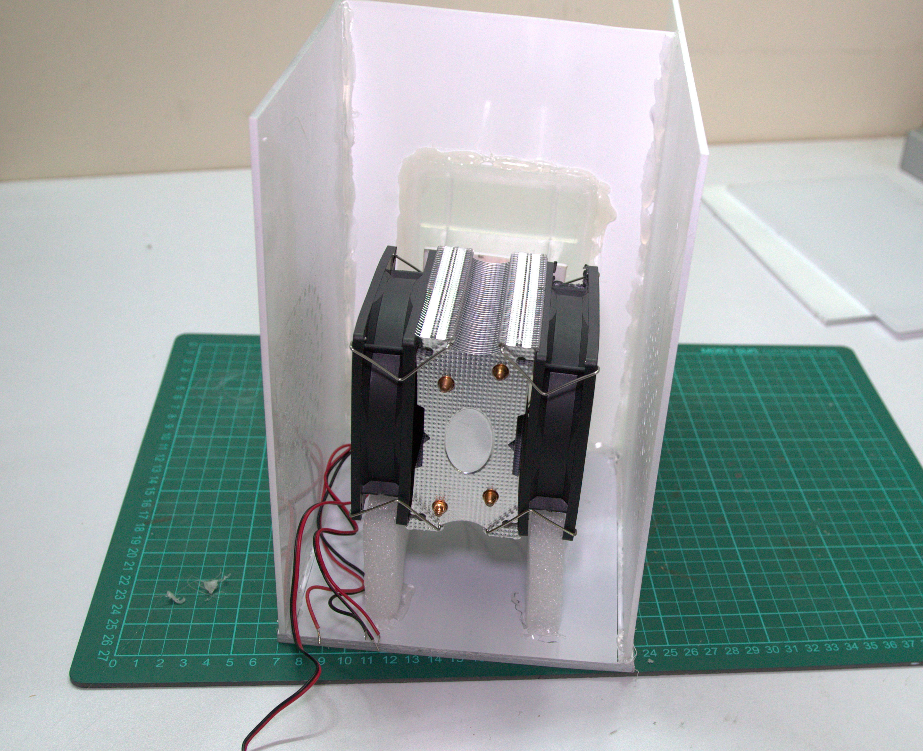 Picture of Add Supports to the Cooling Module