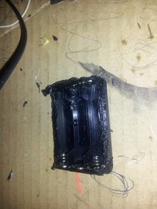 Removing the Battery Holder