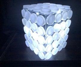 Plastic Trash Lamp