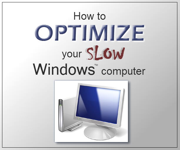 computer loads slowly windows 7