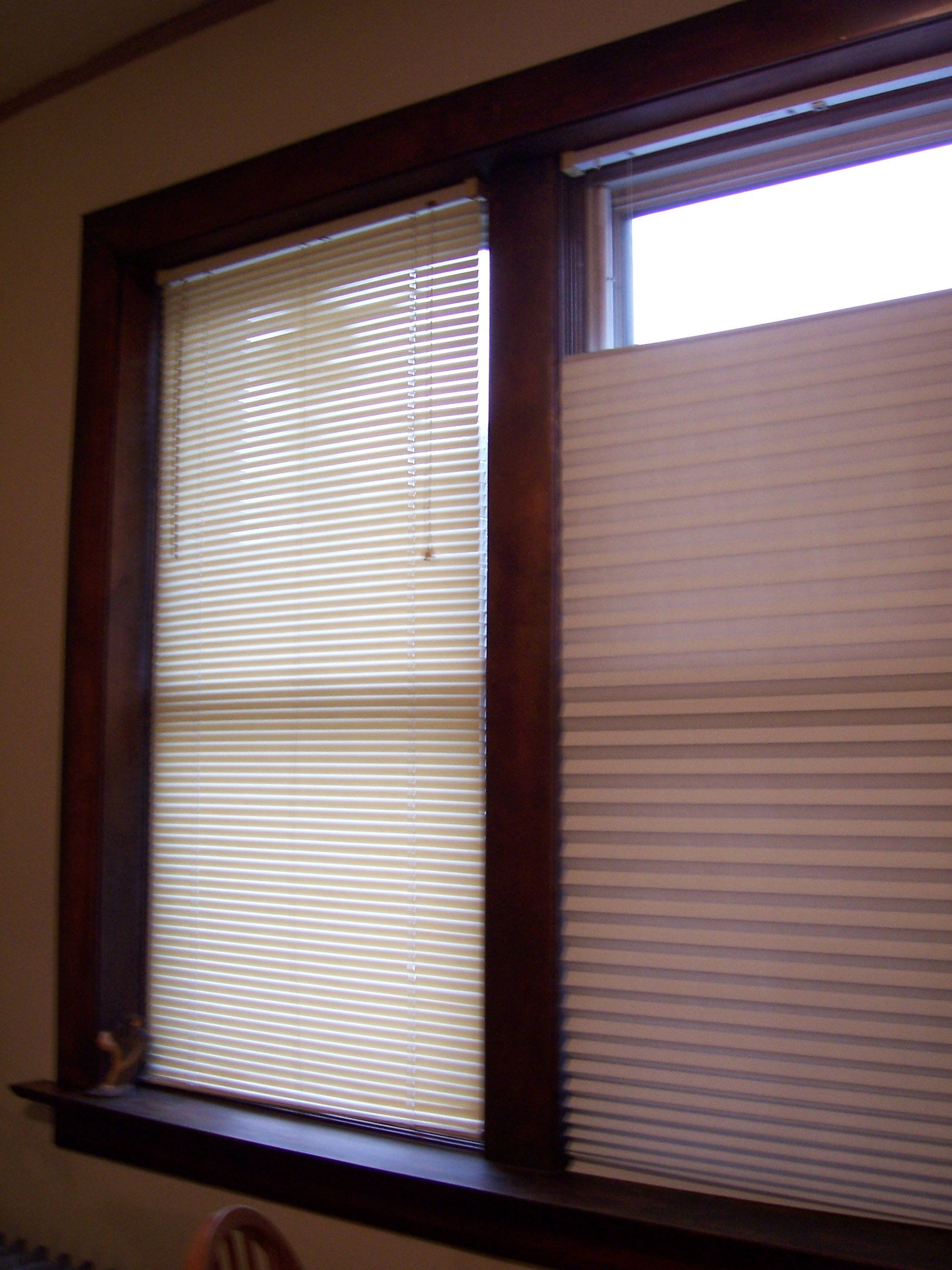Pretty Complex stick on window blinds Casual New