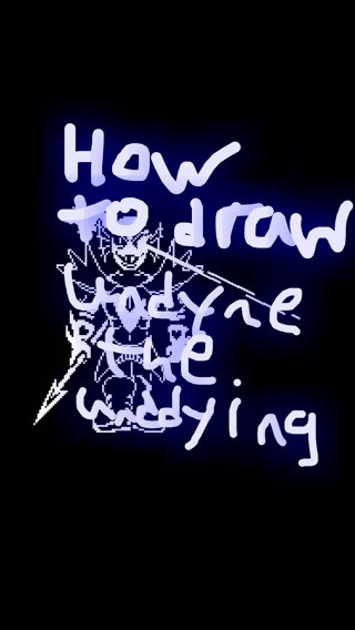 Picture of How to Draw Undyne the Undying