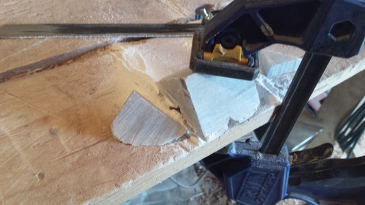 Cutting and Drilling the Stone