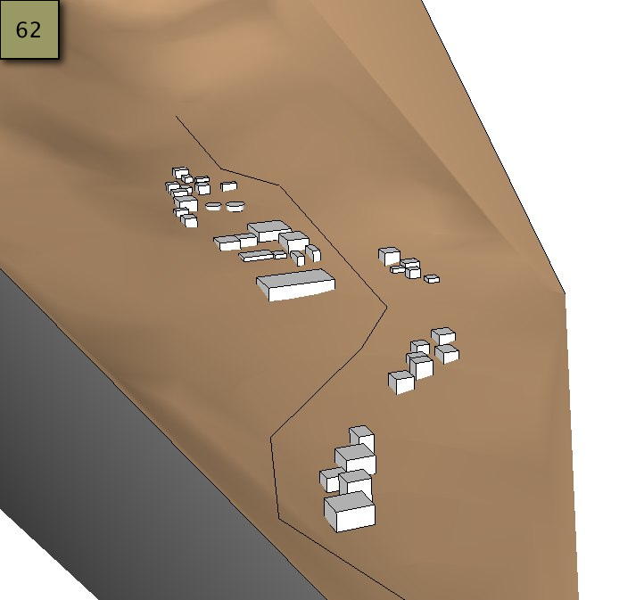 Picture of Transfer the Solids and the Water Line to the Watershed - SketchUp