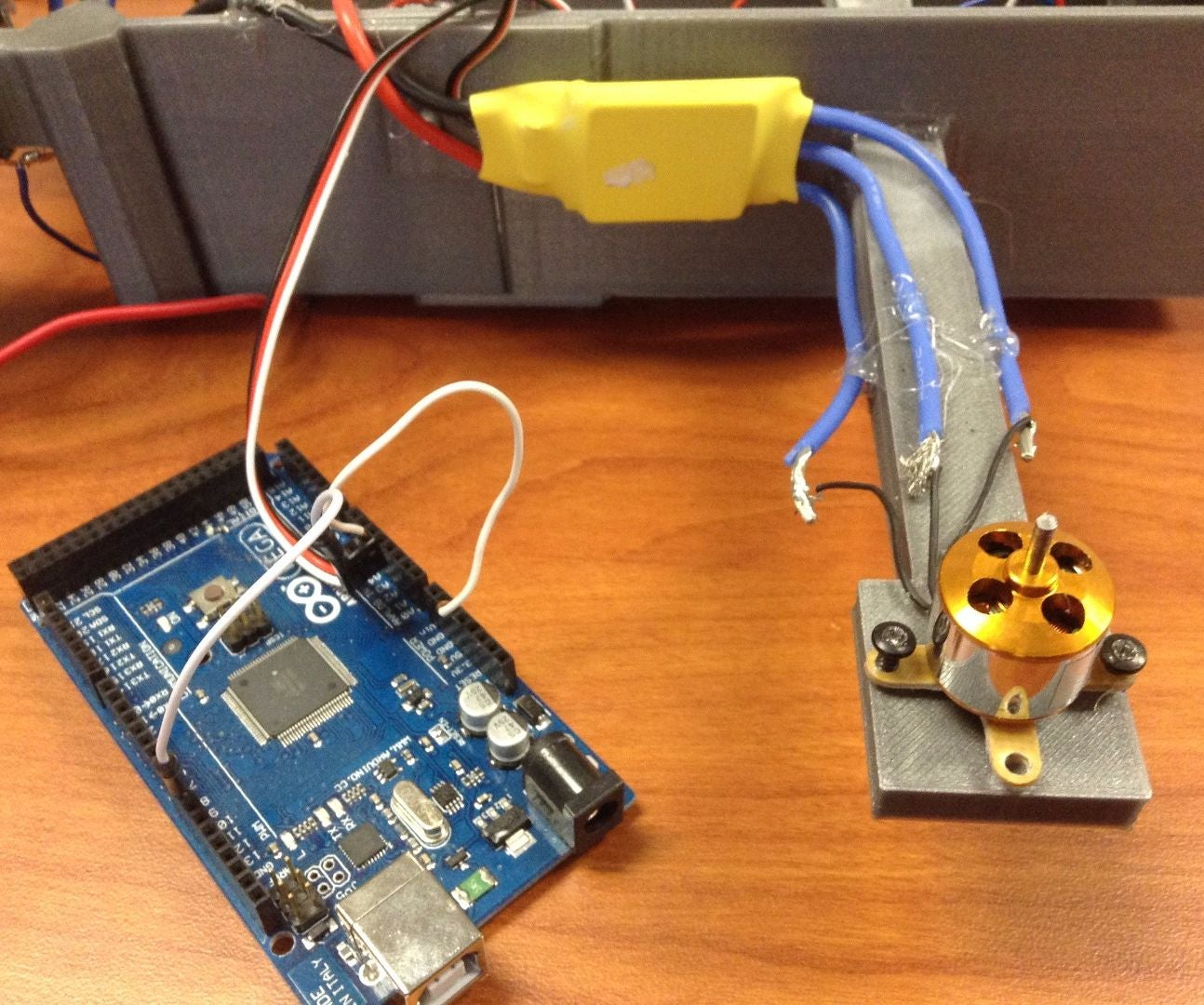How To Run A Brushless Motor Esc With Arduino 3 Steps Pictures An Electric Toothbrush Speed Control Of Dc Electroboom