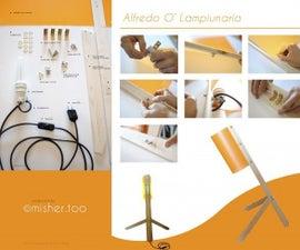 Wood Design Lamp