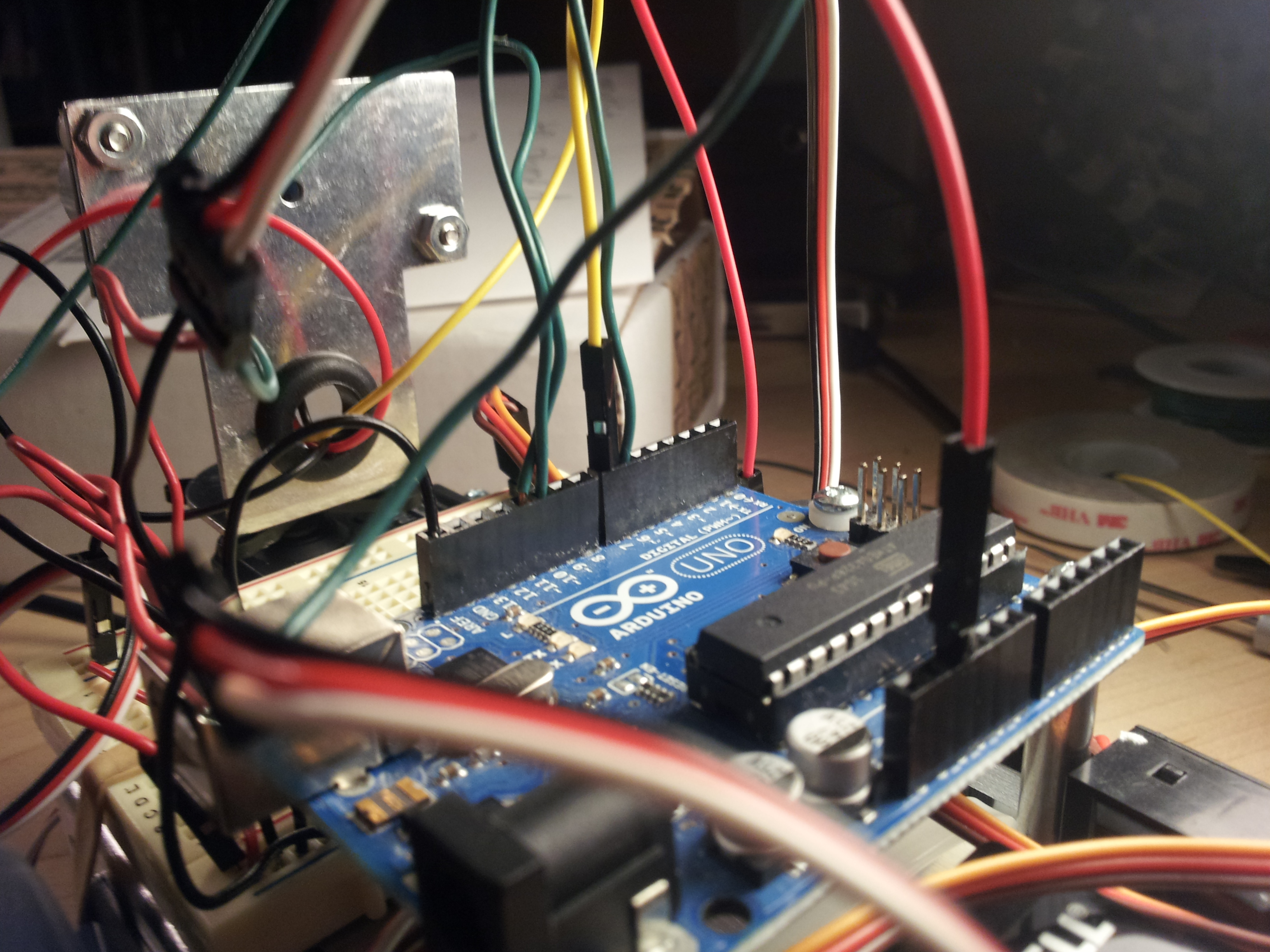 Picture of Wiring and Completion!