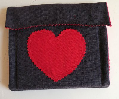 Picture of CD Wallet - Made With Love