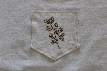 Sewing on the Pocket
