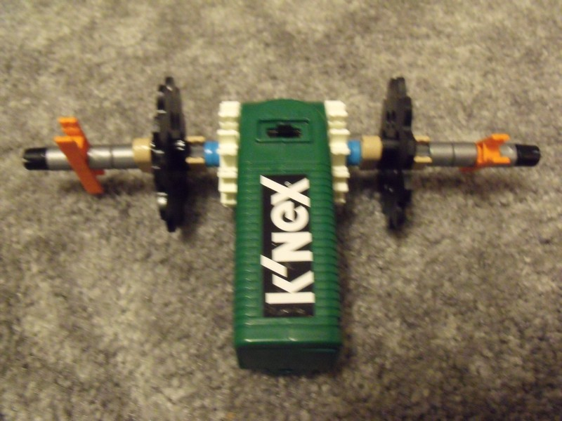 Picture of Motor to Wheel Connection