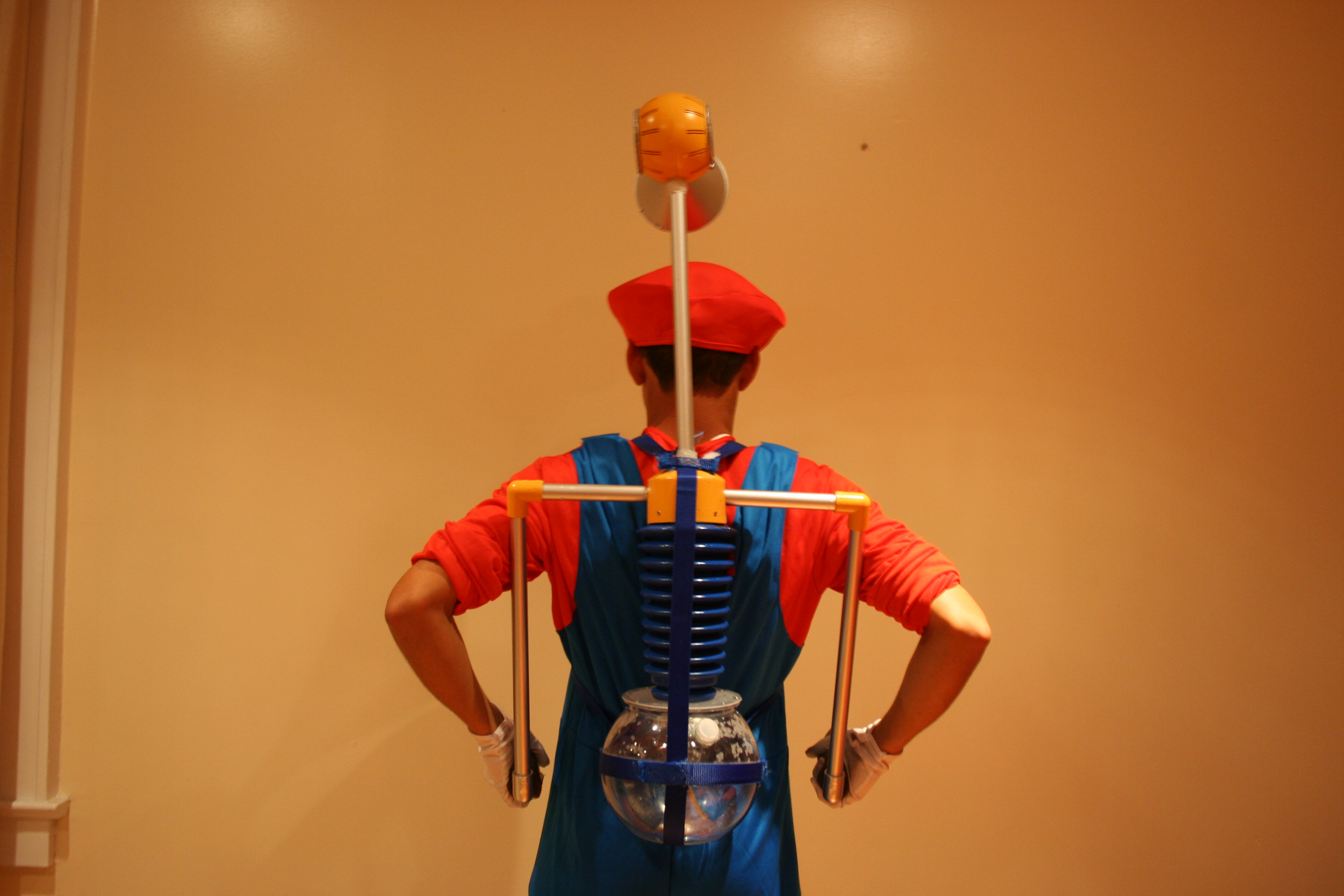 Picture of Mario Sunshine Functional FLUDD Water Gun