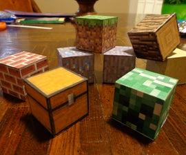 REAL Minecraft Blocks!