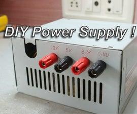 DIY Power Supply !