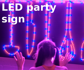 LED Party Light - Partly Recycled, App and Manual Control, Kitchen Themed