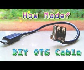 DIY OTG Cable