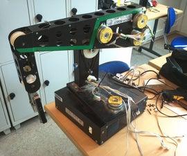 Robotic arm with bipolar stepper