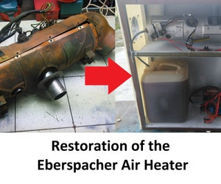 Restoration of the Eberspacher Air Heater