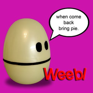Make Your Own Egg Weeble Wobble Toys