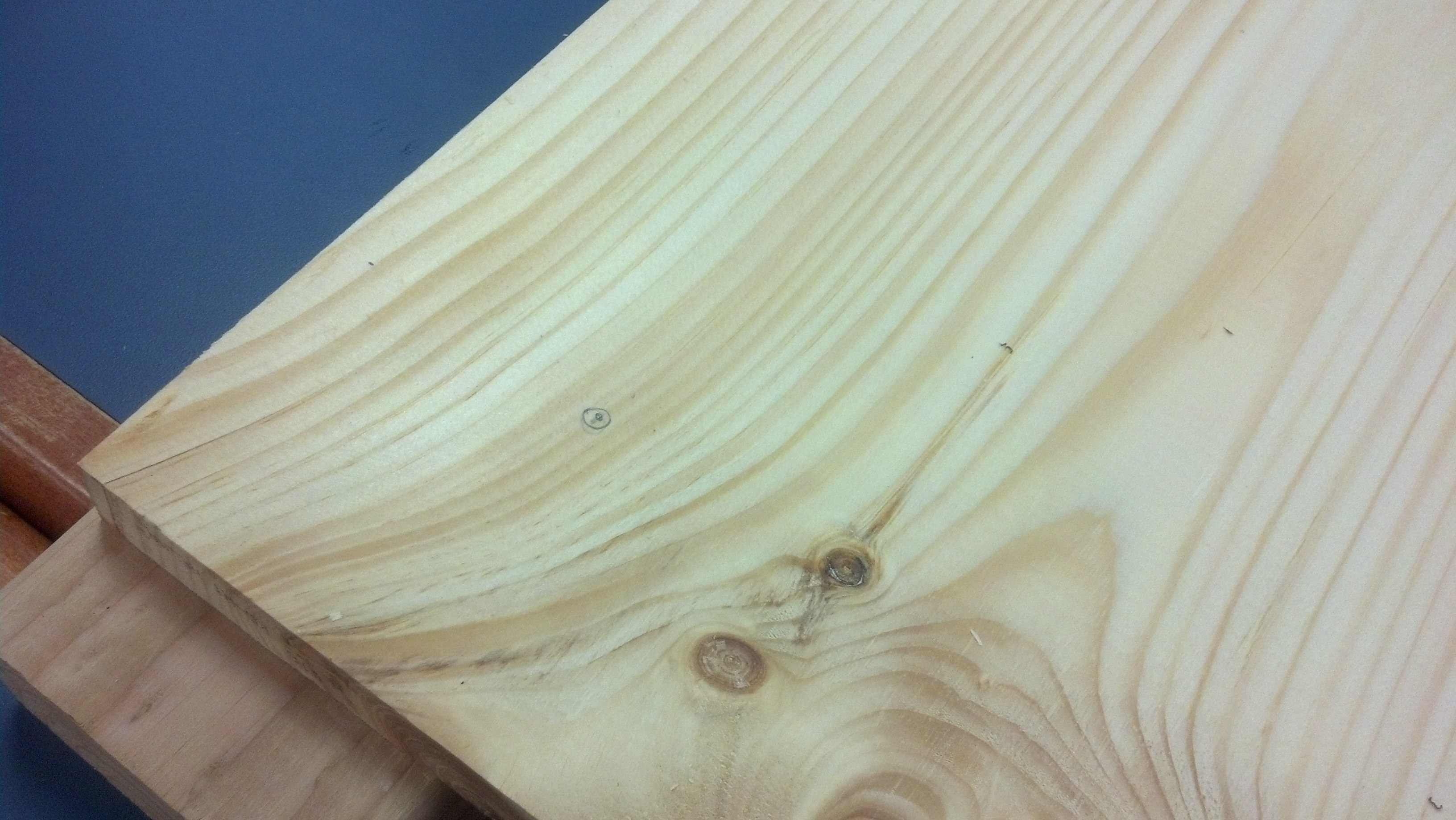 Picture of Marking and Drilling the Dowel Holes