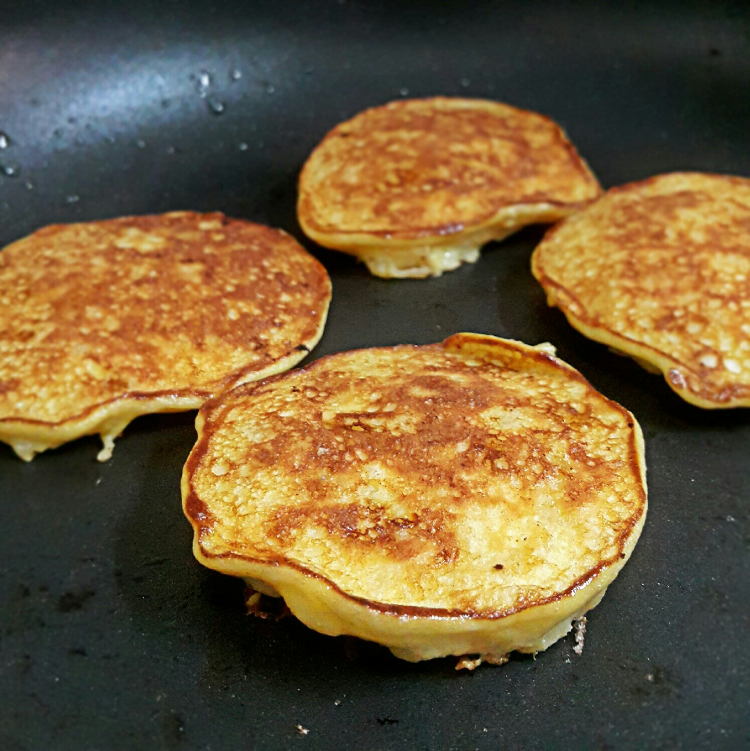 Picture of Just Like You'd Cook a Normal Pancake.
