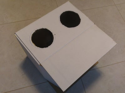 Cut Holes and Ports in the Box