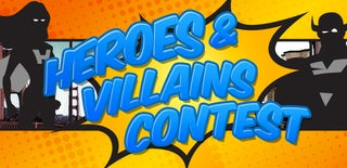 Superheroes and Supervillains Contest