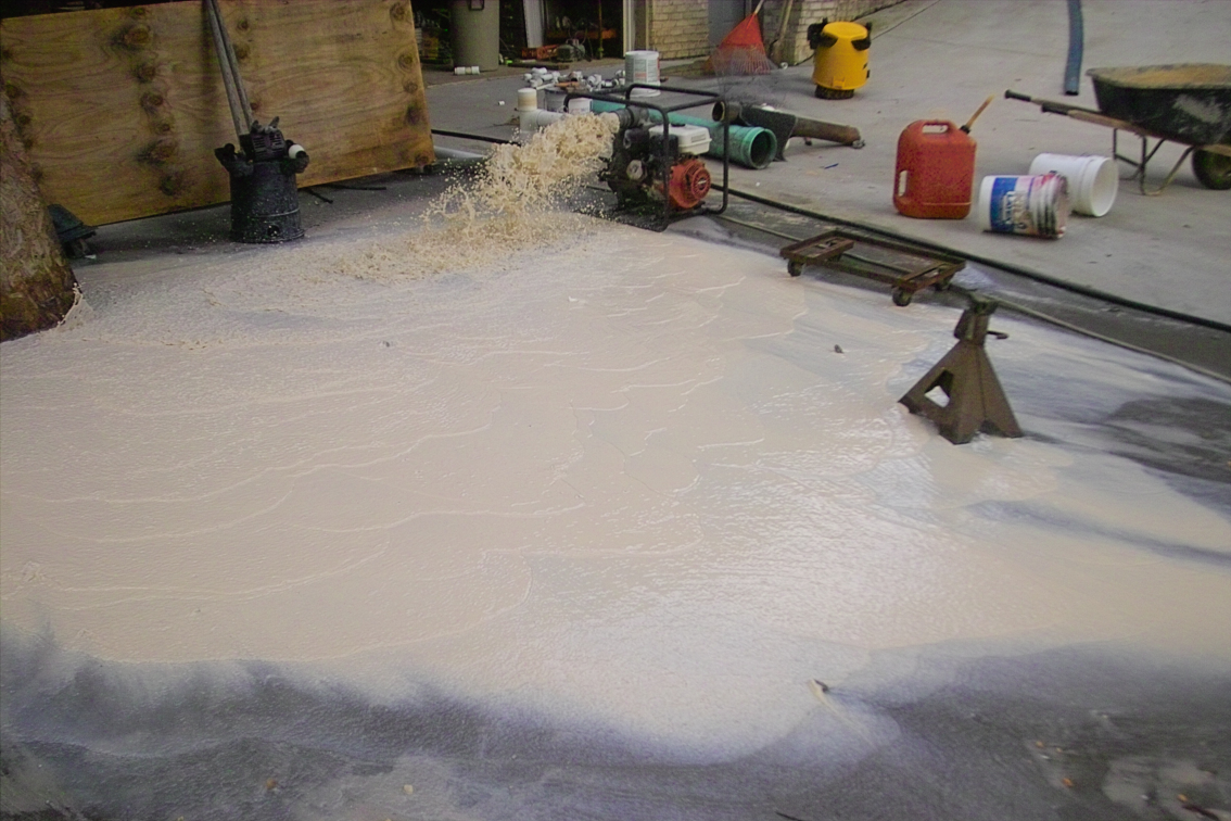 Picture of Ten Yards of Sand by Hand Out in the Yard