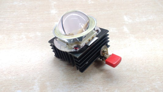 Heat-sink and Fitting the LENS