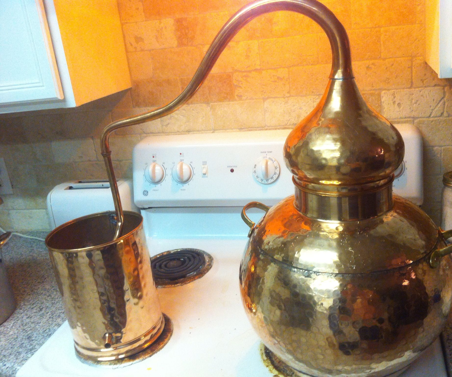 How to make moonshine at home from potatoes How to determine the willingness of the barge to distill