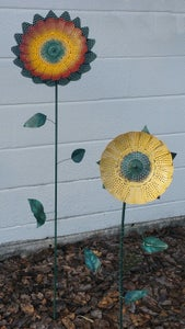 Metal Flower (upcycled)