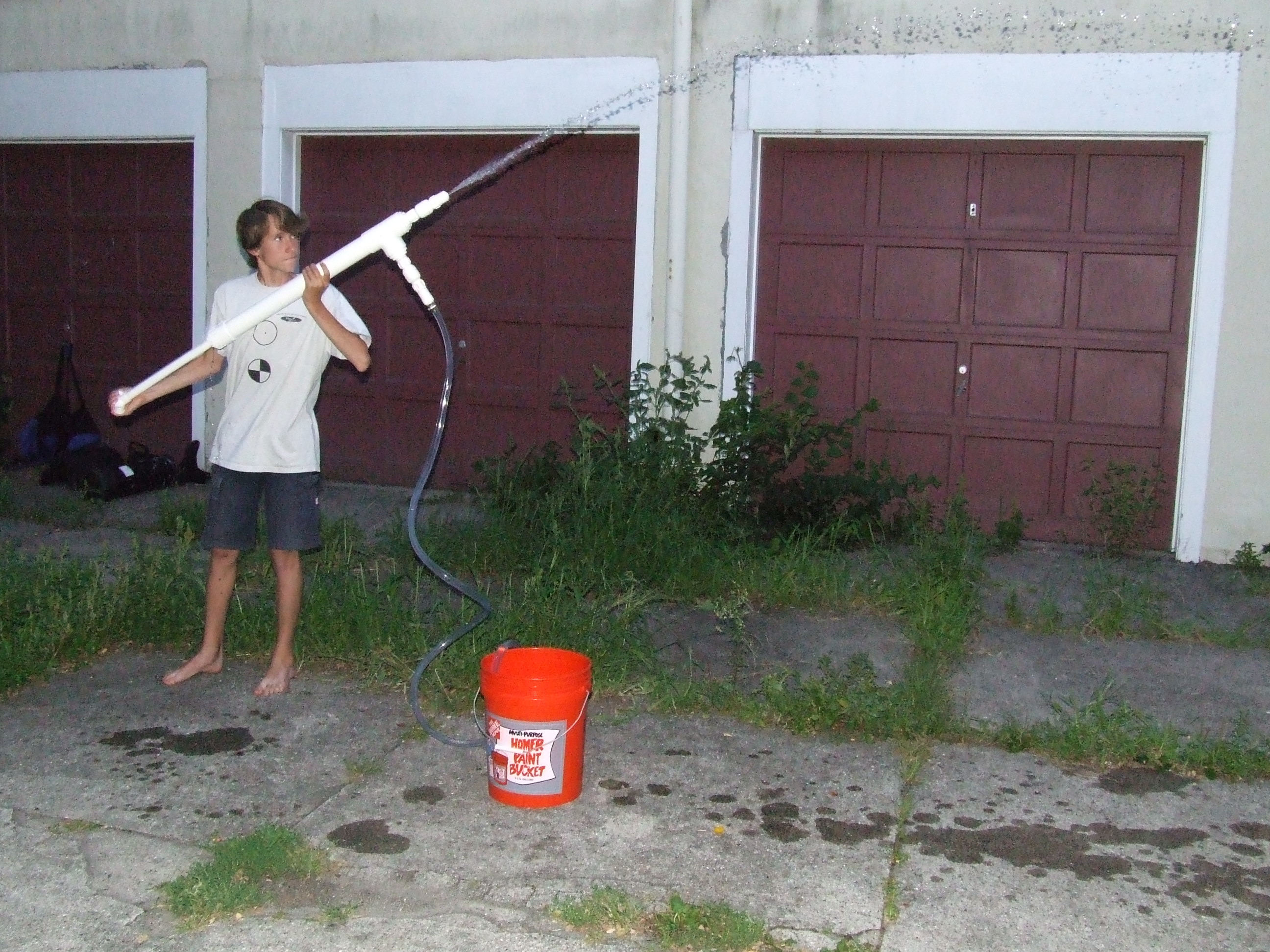 Picture of The Ol' Squirter: a Rather Large Water Gun