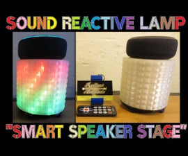 'Smart Speaker Stage' Sound Reactive Party Lamp