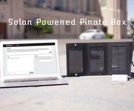Solar Powered PirateBox
