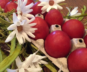 How to Dye Easter Eggs With Dried Onion Skins