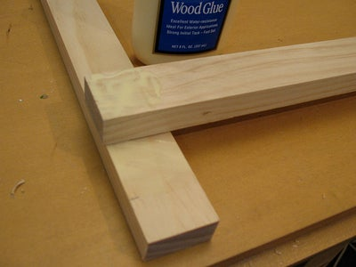Attaching the Other Side of the First Frame and Constructing an Identical Second Frame