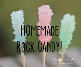 Homemade Rock Candy!