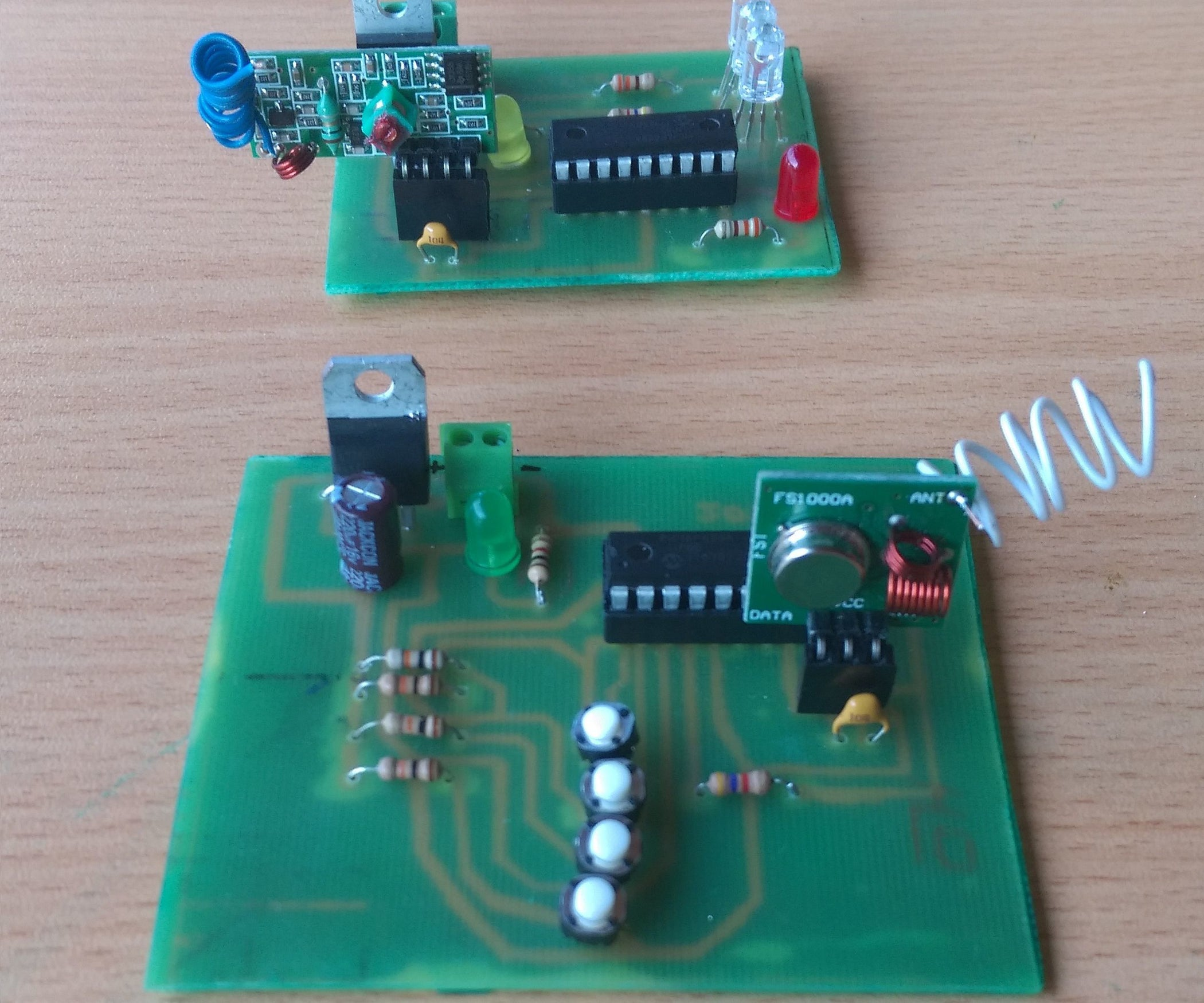 Rf Transmitter And Receiver 8 Steps With Pictures Circuits Hobby Fm Circuit 6 2