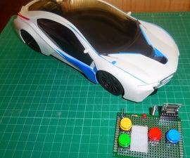4-CH 433 Mhz Module RC Car {No Coding Rx}