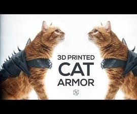 Cat Armor - 3D Printed